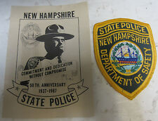 Lot Of 17 Vintage Police Patches – MBTA, CHP, NYC Comm., NH State Police, Etc.