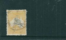1915 5/- 2nd Watermark Kangaroo fine used (SG 30)