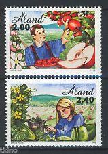 Aland/Åland 1998, Fruit and vegetables full set MNH 10 1.25