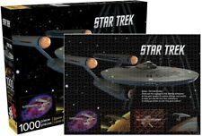 Star Trek: The Original Series NCC-1701 Enterprise 1000 Piece Jigsaw Puzzle, NEW