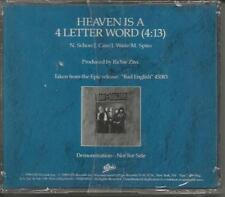 John Waite BAD ENGLISH Heaven is a 4 Letter PROMO DJ CD single JOURNEY SEALED