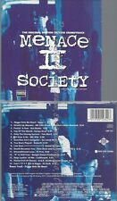 CD--VARIOUS--MENACE II SOCIETY