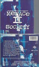 CD--VARIOUS--MENACE II SOCIETY