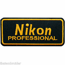 Nikon SLR Camera Digital Film Photography Iron on Patch Jacket Bag Case #E004