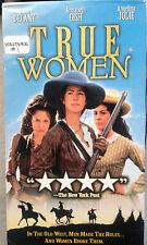 True Women (VHS) 1997 TV movie stars Dana Delany and Angelina Jolie