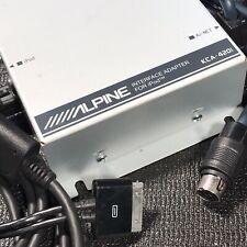 Alpine Kca-420i Interface Adapter for Apple iPod / iPhone & Car Stereo Head Unit
