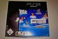 SONY PLAYSTATION 2 CONSOLE / PS2 CONSOLE / DISNEY SINGSTAR LIMITED EDITION RARE