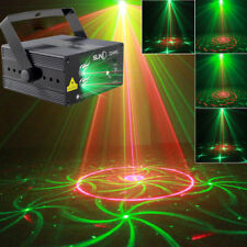 LED Laser Light Projector 3 Lens 24 Patterns RG Blue Suny Stage DJ show Lighting