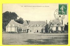 Carte Postale Ancienne FRANCE 76 - MOTTEVILLE Le CHÂTEAU Castle French