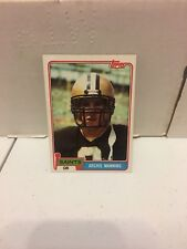 1981 Topps Archie Manning #158