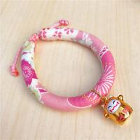 Handmade Japanese Style Kitten Cat Collar Adjustable For Dog Necklace