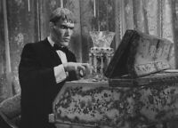 The Addams Family Cast Ted Cassidy Lurch Piano  8x10 Glossy Photo