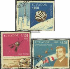 Ecuador 1283-1285 used 1966 Space