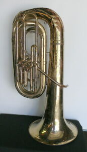 Olds 0-991 Tuba. In need of repair.  Missing mouthpiece, no case.