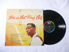 NAT KING COLE ~ THIS IS... ~ NEAR MINT CAPITOL JAZZ/VOCAL VINYL LP ~ NICE AUDIO