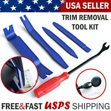 Car Trim Removal Tool Kit Set Door Panel Fastener Automotive Dashboard 5 Tools