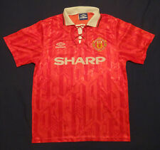 Manchester United Home Shirt 1992-94 – Size M