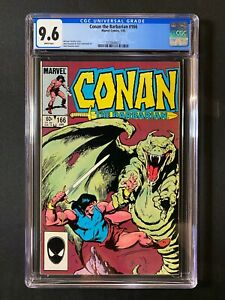 Conan the Barbarian #166 CGC 9.6 (1985)