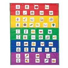 Learning Resources Rainbow Pocket Chart, New, Free Shipping
