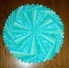 54 Caribbean Green Blue Fabric 5