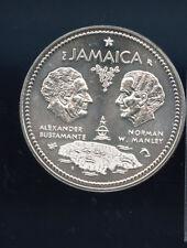 1972 Jamaica UNC $10 (10 Dollar) Silver Coin C768