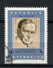 Austria 1981 SG#1906 Otto Bauer Used #A20647