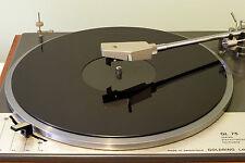 Gloss Black Acrylic Turntable Platter Mat. fits LENCO!