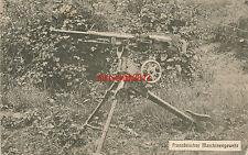 Ak, Französisches Maschinengewehr, Feldpost, 1917, (N)19215