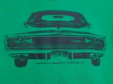 Dodge Charger T-shirt sz 18m Muscle Car Hemi Ambition is dream with a v8 engine