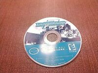 Nintendo GameCube NGC Disc Only Tested Need for Speed Underground 2 Ships Fast