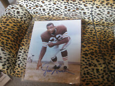 Jim Brown Browns Signed 8x10 Photo Autograph Auto