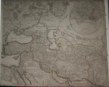 EASTERN ROMAN EMPIRE TURKEY MIDDLE EAST CENTRAL ASIA  170 DE L'ISLE ANTIQUE MAP