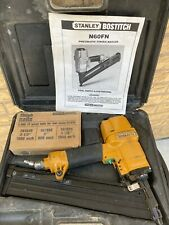 Bostitch N60 pneumatic finish nailer vintage woodworking cabinet maker tool