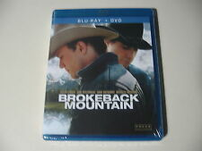 Brokeback Mountain (Blu-ray/DVD, 2012, 2-Disc Set) Brand New and Sealed