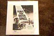 PLAN 9 FROM OUTER SPACE  PRESSBOOK COMPLETE ED WOOD TOR JOHNSON RARE CULT