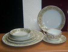 FIVE  (7 PIECE PLACE SETTINGS) GDA HAVILAND LIMOGES China Dinnerware GIMBELS