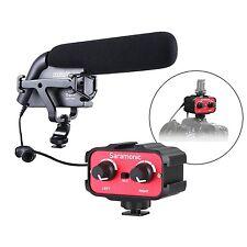 Sevenoak DSLR Video Audio Kit w/ Shotgun Condensor Microphone & 2-Channel Mixer