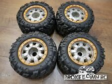 SEALED PROLINE 2679-01 40 SERIES 23MM HUB WELD CHEYENNE WHEELS + Tires