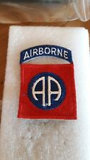 Superbe  patch armee us 82th AIRBORNE DIVISION  vietnam original