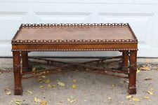 Vintage Henredon Historic Natchez Collection Mahogany Coffee Table