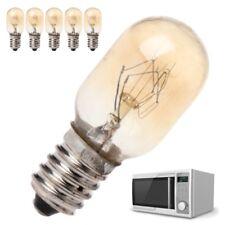 5Pcs Microwave Oven Part Light Bulb 20W 230V High Quality Glass Lamp Screw Mount