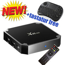 X96mini 4K Smart TV BOX Android 7.1.2 8GB QuadCore WIFI LED 100Mbps EU+KEYBOAR