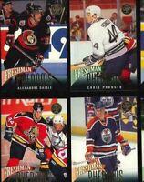 1993-94 Leaf Freshman Phenoms Complete Hockey Set of 10 Cards: RENBERG, Naslund