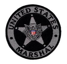 United States Marshal 3.5 Inch Law enforcer Morale Hook Patch