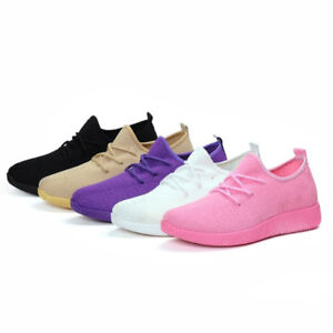 Fashion Women Running Shoes Sneakers Sock Shoes Breathable Outdoor Sport Shoes C