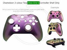 Nuevo controlador de la carcasa frontal Xbox One Cambio De Color Morado Verde Personalizado único