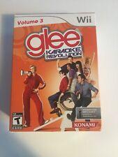 Karaoke Revolution: Glee - Vol. 3 (Nintendo Wii, 2011) - BRAND NEW Mic Included!
