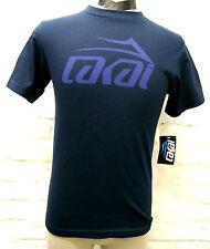 Lakai Tonal T-Shirt Skateboarding/Longboarding Farbe Navy Größe S