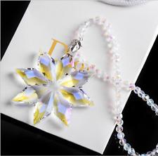 Crystal Meteor Hammer Star Ornament Christmas Collectible Hanging Pendants B5