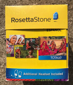 Rosetta Stone Spanish Latin America Level 1-3 Espanol Version 4  w/Headset